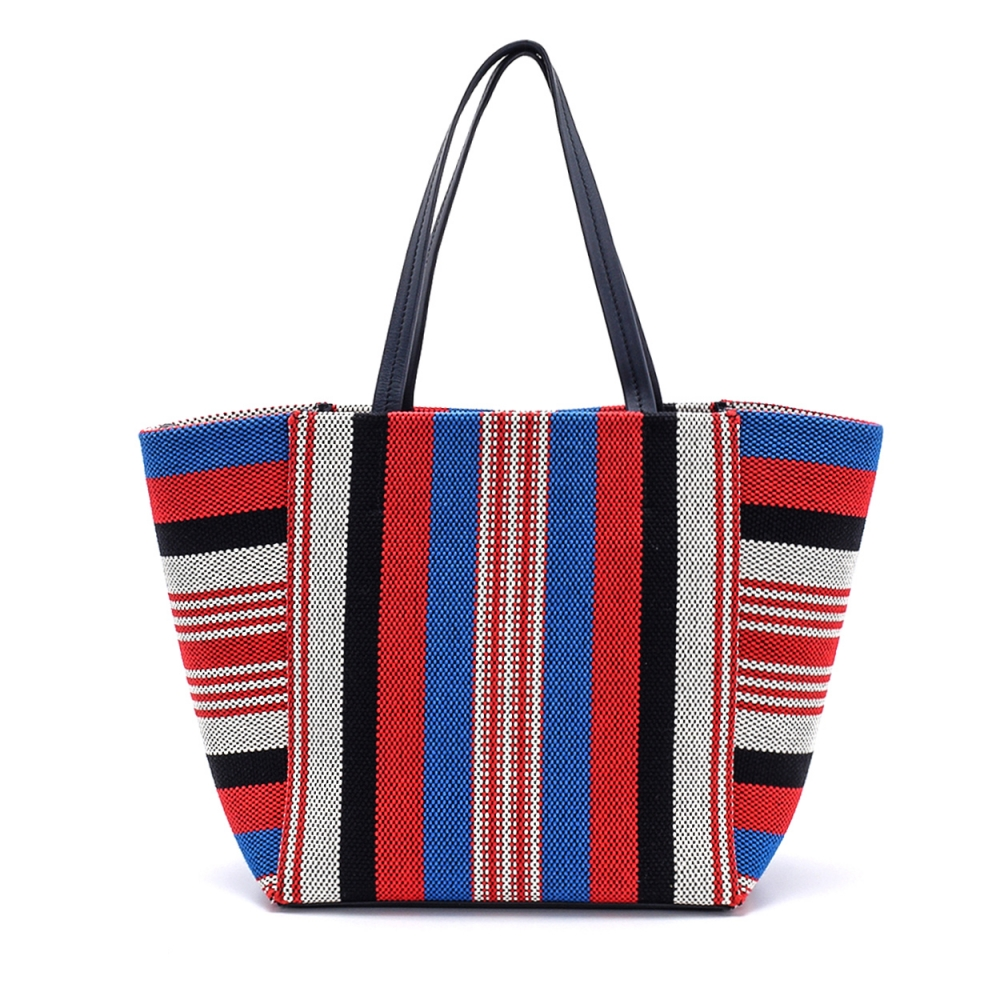 Celine - Multicolor Knitting Cloth Shopping Bag