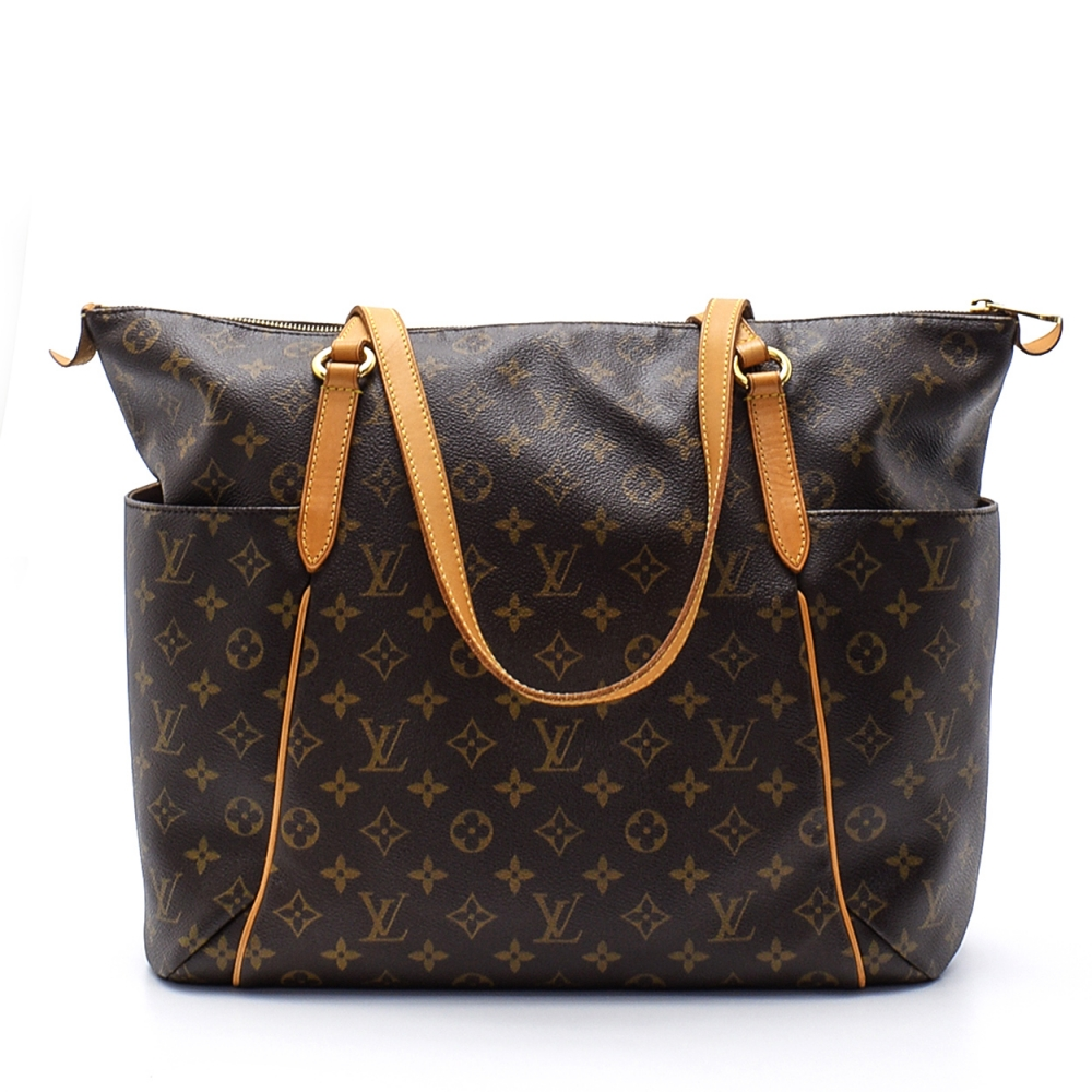 Louis Vuitton- Monogram  Canvas Leather  Totally Gm Bag
