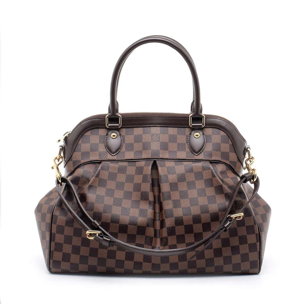 Louis Vuitton - Damier Ebene Canvas Trevi Gm Bag