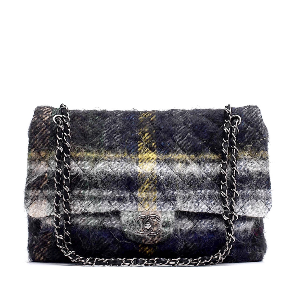 Chanel - Multicolor Quilted Wool Limited Edition Flap Bag