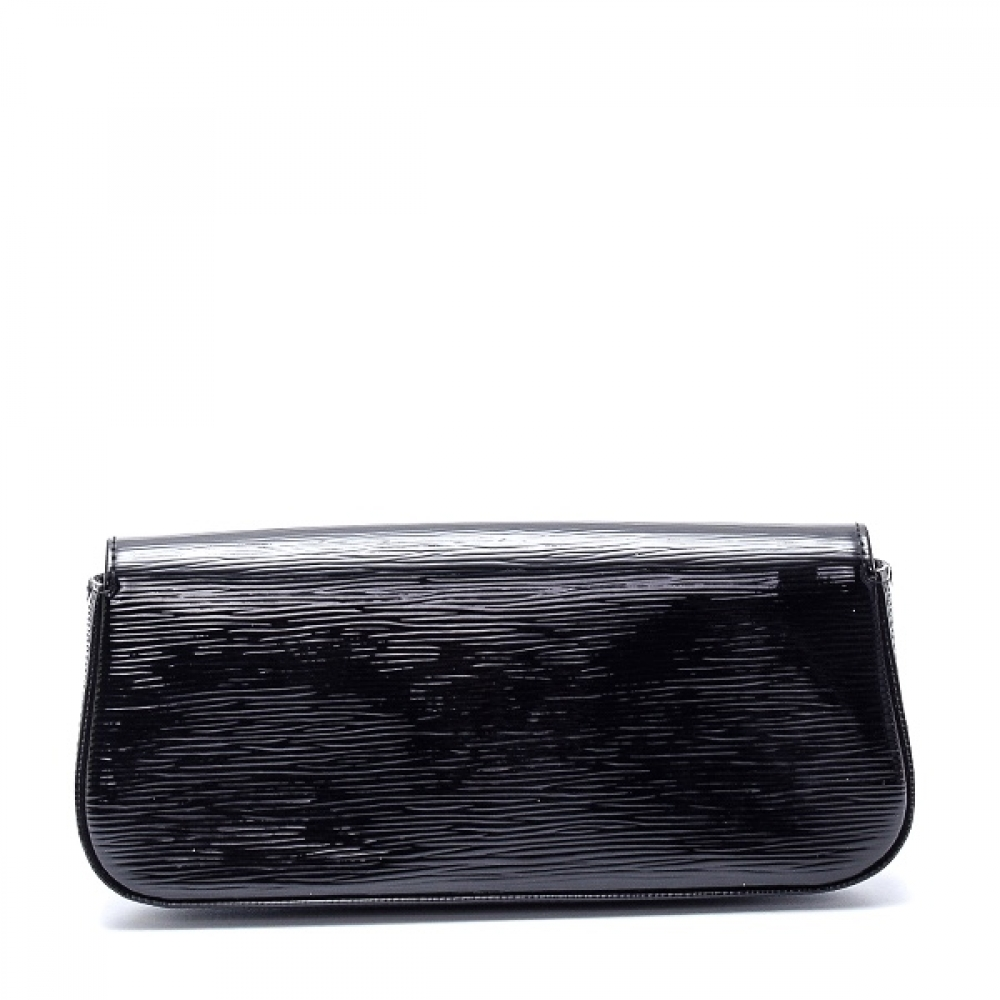 Louis Vuitton - Black Epi Electric Leather Sobe Clutch Bag III