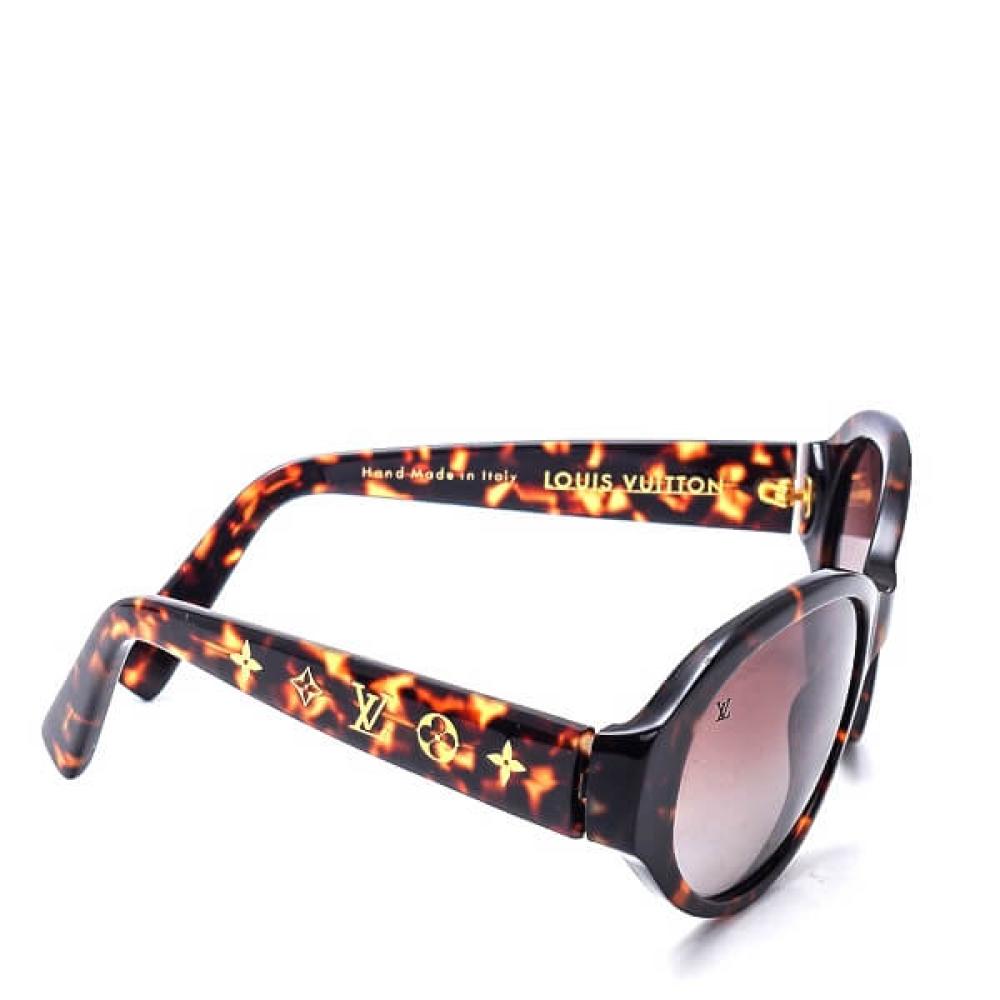 Louis Vuitton - Tortise Obsesionrond Sunglasses
