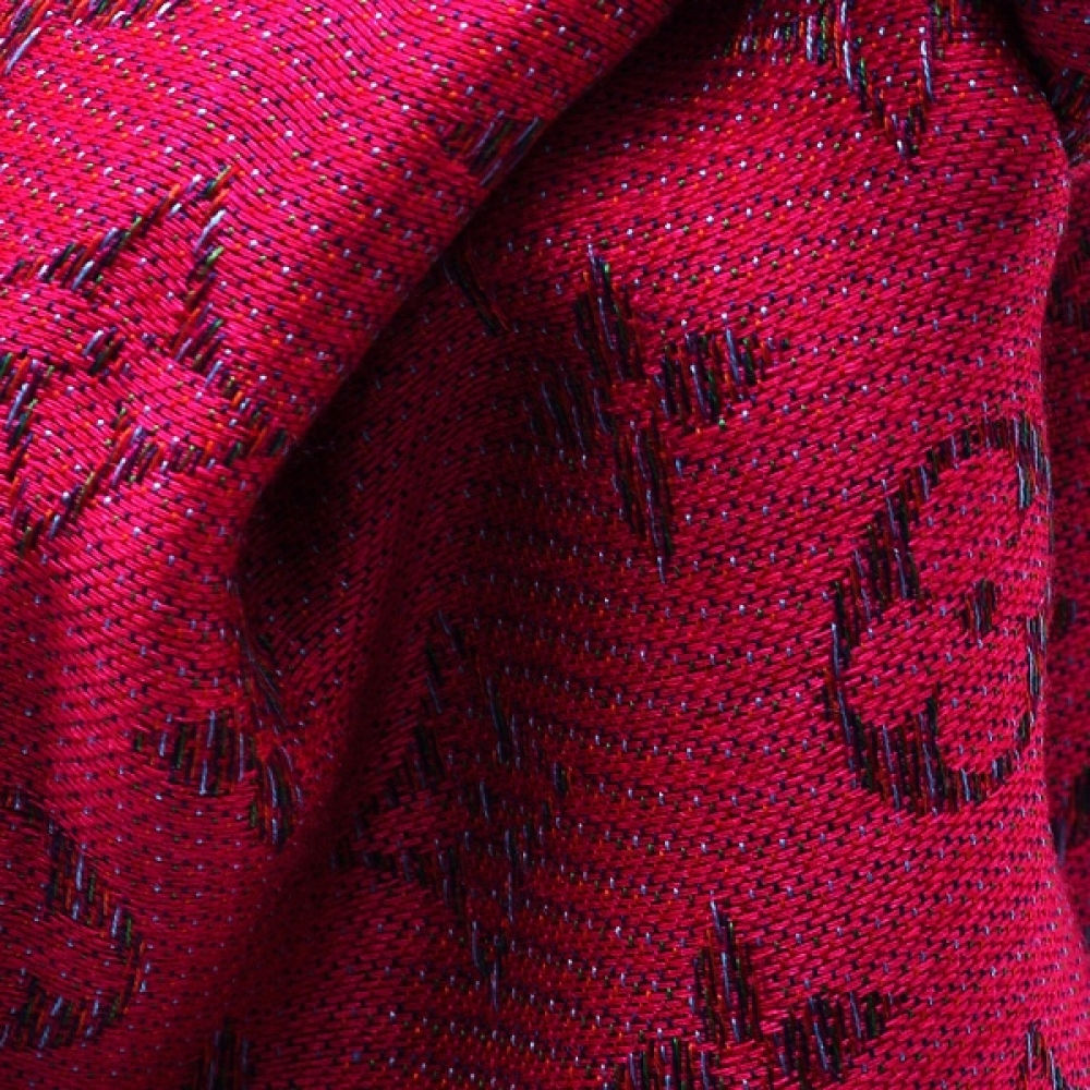 Louis Vuitton - Rainbow Tuch Framboise Monogram Shawl