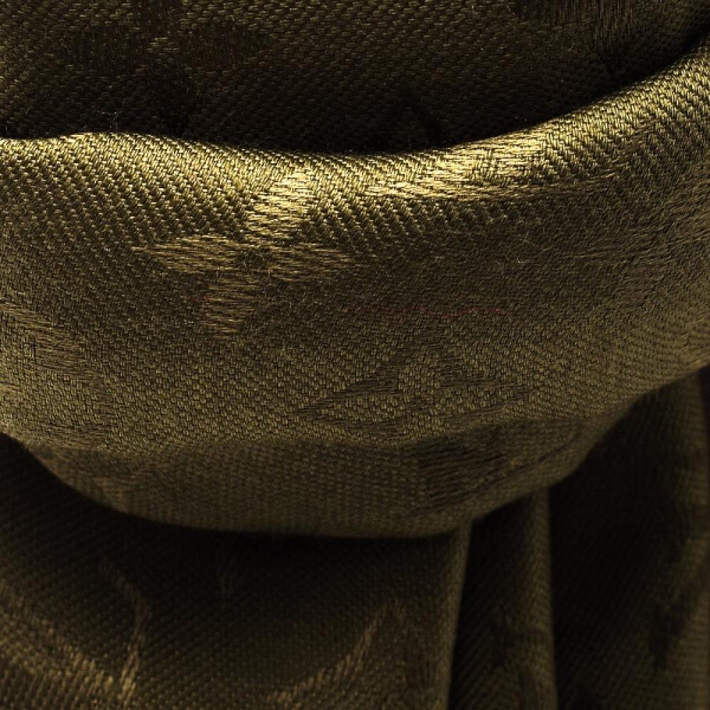 Louis Vuitton - Khaki Chale Monogram Classic Shawl