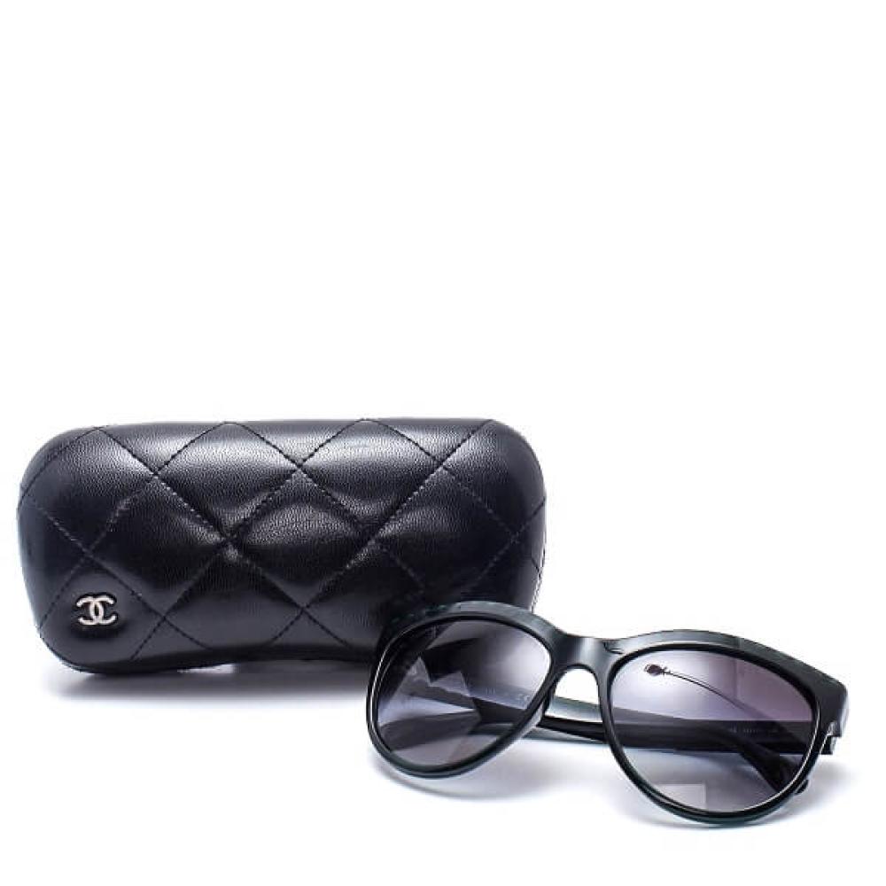 Chanel - Green Pearl Sunglasses